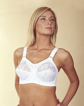 View larger image of Doreen Bra Triumph White/Black