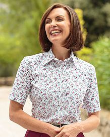 Stacey Multi Coloured Pure Cotton Blouse