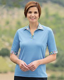Natalie Pure Cotton Short Sleeve Polo