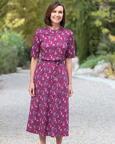 Delores Multi Coloured Pure Silky Cotton Dress