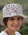 Liberty Print Reversible Floral Hat