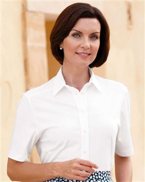 Pure Austrian Silky Cotton White Blouse