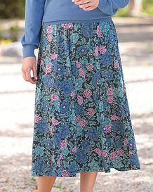 Sally Multi Coloured Pure Cotton Skirt