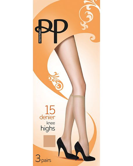 15 Denier Everyday Range Knee Highs