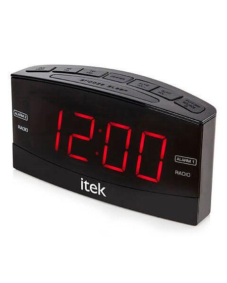 Bedroom radio alarm clock