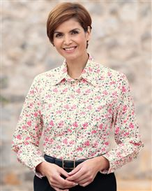 Rosa Floral Pure Cotton Blouse