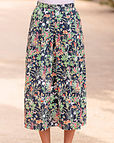 Adelaide Multi Coloured Pure Cotton Skirt