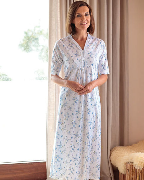 Dorothy Pure Silky Cotton Nightdress