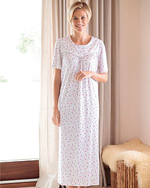 Bridget Pure Silky Cotton Nightdress