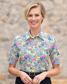Mandy Floral Pure Cotton Blouse