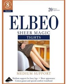 Elbeo Sheer Magic Medium Support Tights