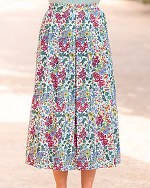 Meredith Multi Coloured Pure Cotton Skirt