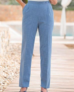 Polly Trousers - Blue