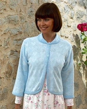 Advertisement Bed Jacket