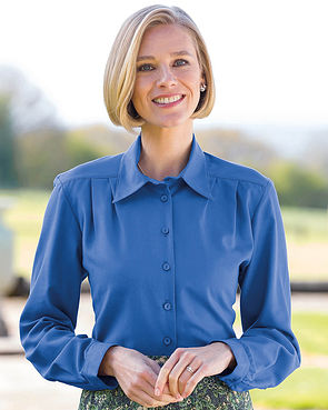 Soft Handle Blouses - Blue
