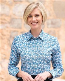 Jody Floral Pure Cotton Blouse