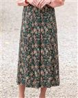 Patricia Floral Supersoft Viscose Skirt