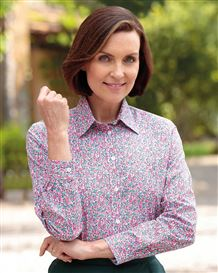 Alicia Floral Pure Cotton Blouse