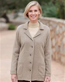Jessie Pure Lambswool Rever Style Jacket
