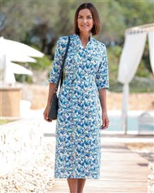Florence Floral Pure Cotton Dress