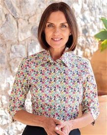 Monique Floral Pure Cotton Blouse