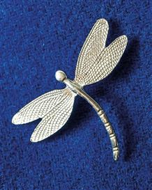 Dragonfly Pewter Brooch