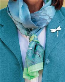 Lakeside Silk Scarf