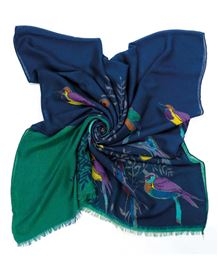 Exotic Birds Scarf