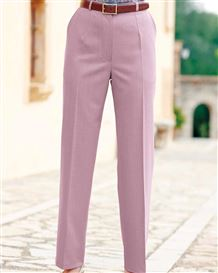 Sandown Dusky Pink Trousers  Ladies