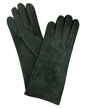 Lambskin Gloves - Green