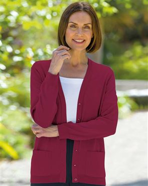 Merino Cardigan Available in 17 Colours