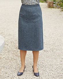 Lauder Straight Skirt