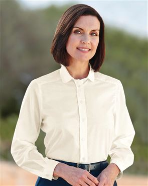 Peter Pan Polycotton Cream Blouse