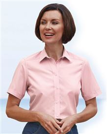 Easycare Short Sleeve Plain Polycotton Shirts