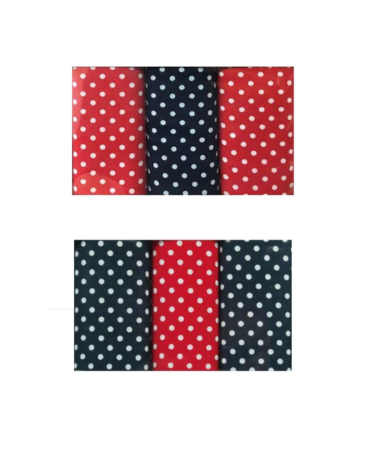 Cotton Spotted Hankerchiefs