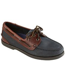 Marine Lace Up Moccasin Chatham