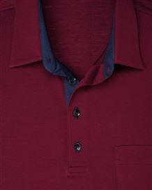 Pure Cotton Short Sleeve Polo Shirt