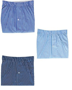 Pack Of 3 Assorted Boxer Shorts