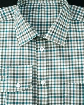 Dalton Tattersall Check Pure Cotton Twill Shirt