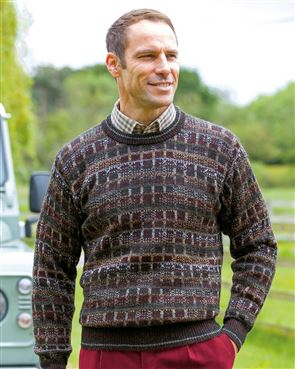 Alpaca Sweater  Mens