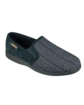 Mens Tweed Slipper