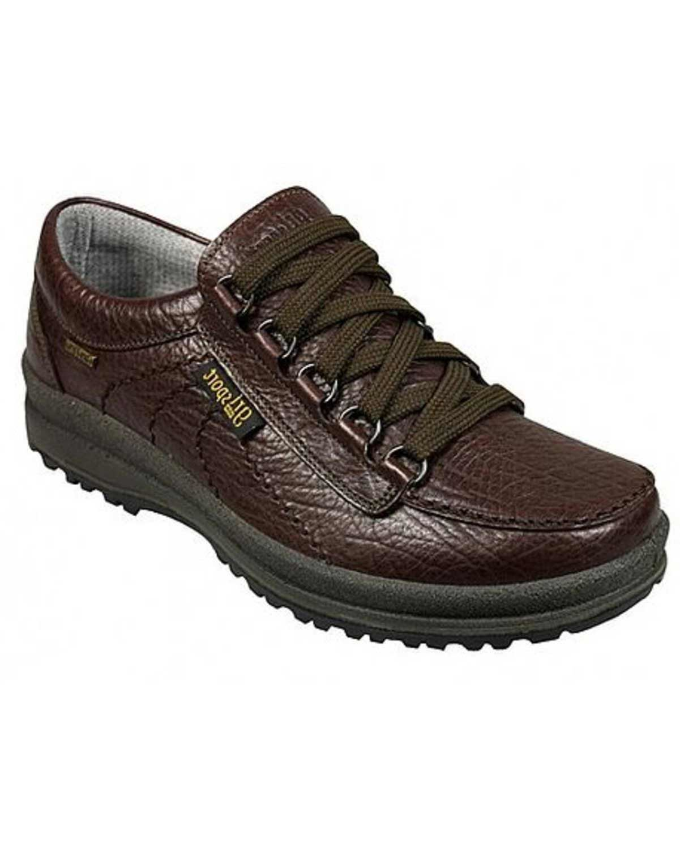 waterproof walking shoe leather finished in italy