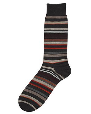 Fancy Stripe Pantherella Socks