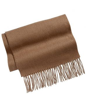 Camel Pure Lambswool Scarve