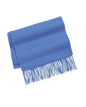Colbalt Pure Lambswool Scarves