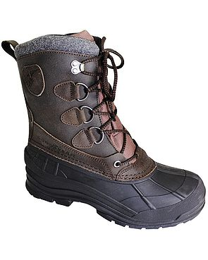 Waterproof Lace-up Boot