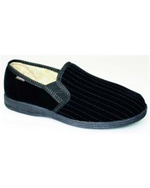 Velour Mens Slipper