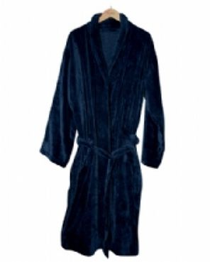 View larger image of Velour Dressing Gown