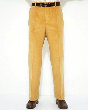 Needlecord Trousers - Mens - Sand