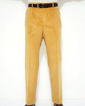 Corduroy Trousers  Mens - Sand